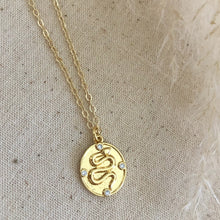 Load image into Gallery viewer, 24K Gold Filled Dat Snake Necklace