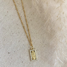 Load image into Gallery viewer, Square Virgin Necklace