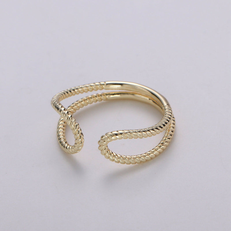 Glory Twisted Rope Ring