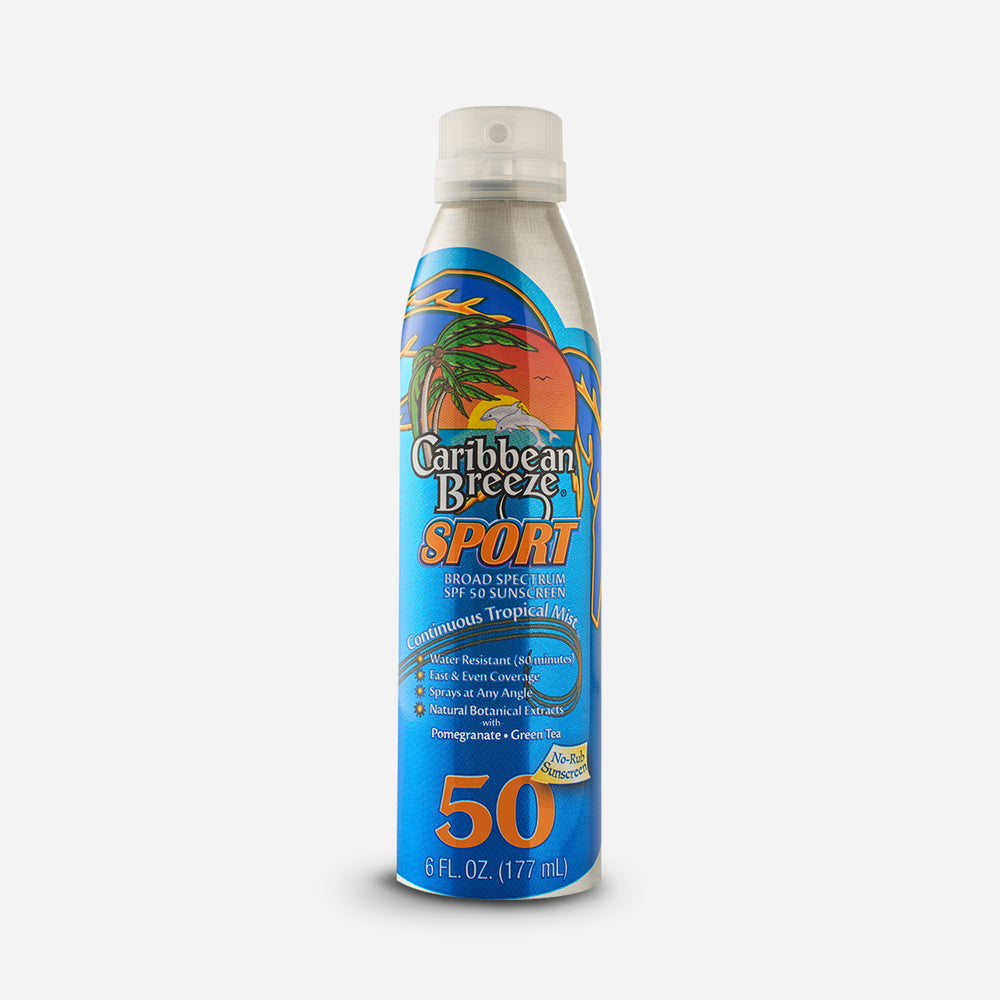 Spf 50 Sport Continuous Tropical Mist Sunscreen, 177 ml