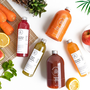 """Superfood Probiotic"" Cold Pressed Juice Pack"