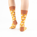 "Load image into Gallery viewer, ""All You Need Is Love"" : Bread Loaves Print Socks"