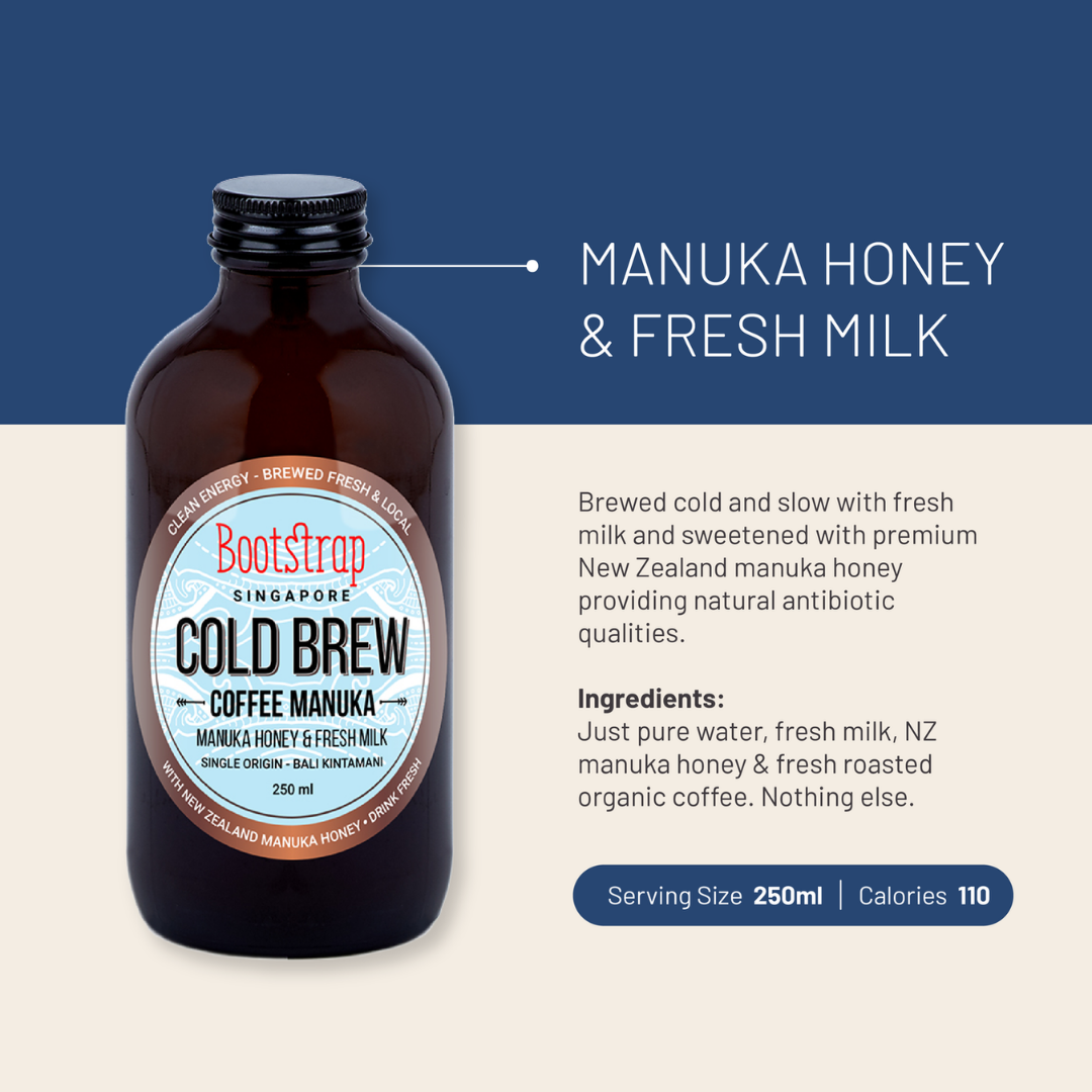 Milk & Manuka Honey Cold Brew Coffee