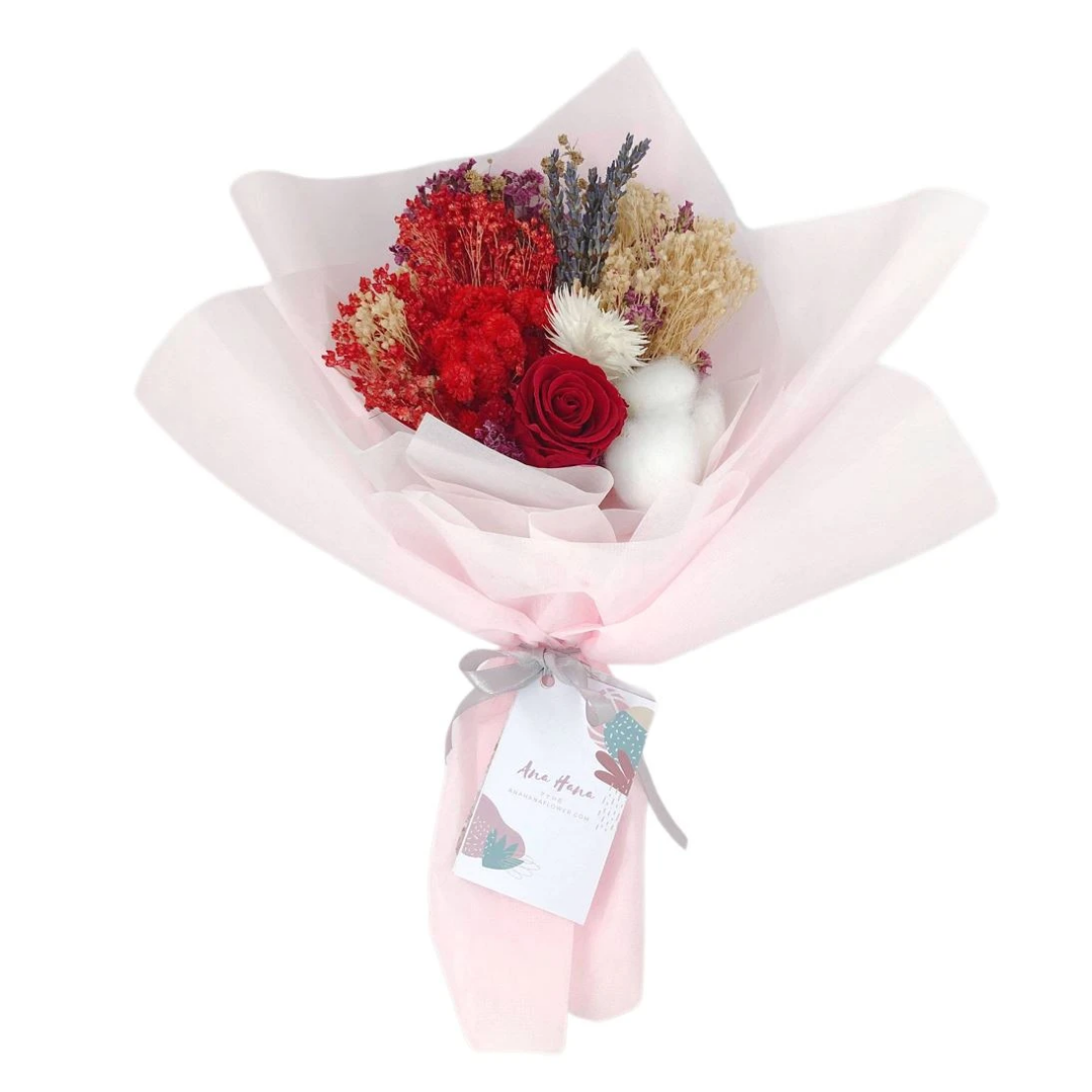 """Kogara"" Preserved Flower Bouquet"