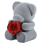 "Load image into Gallery viewer, ""Mom's Love, Thank You!"" Teddy Preserved Rose"