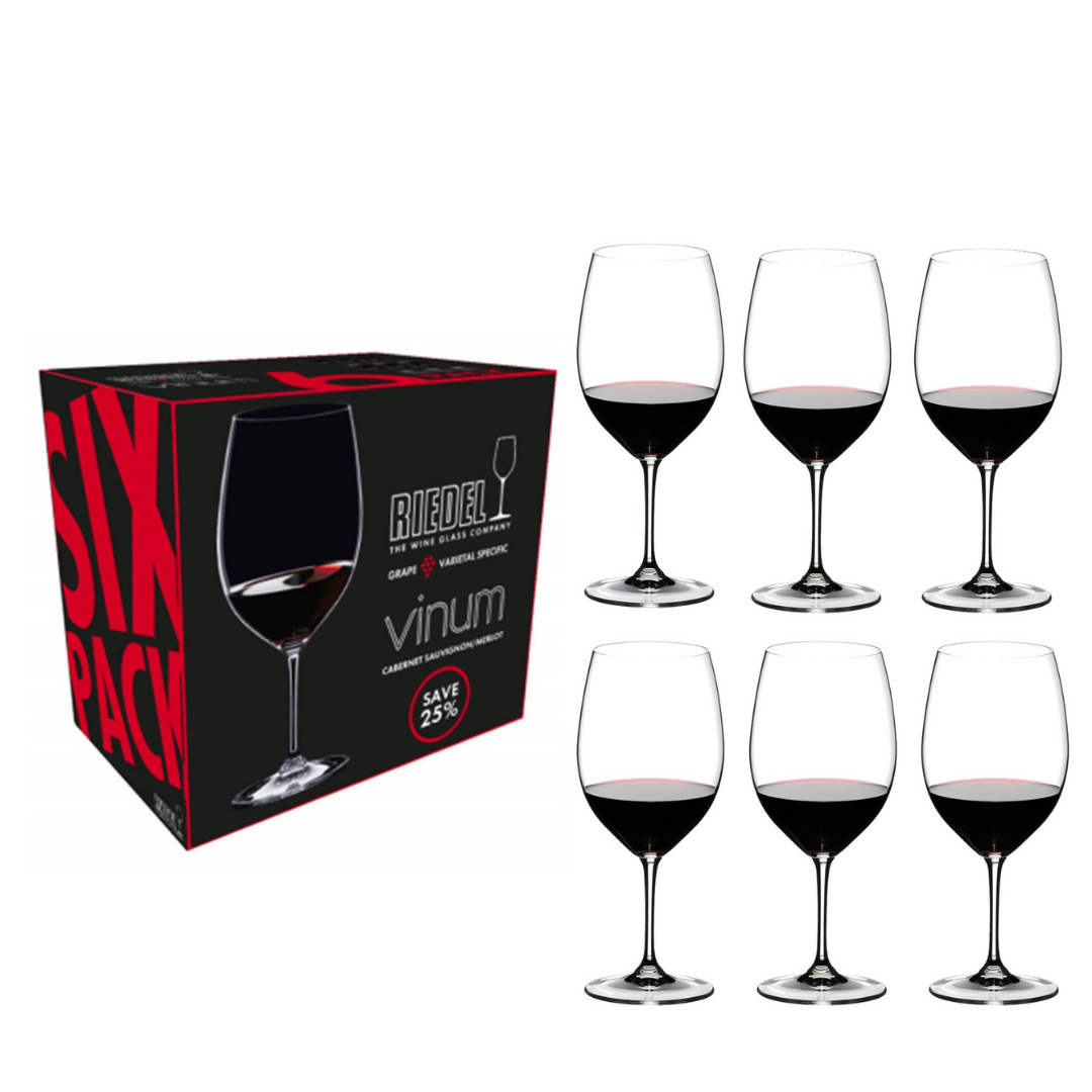 "Riedel ""Vinum"" (Set of 6) : Cabernet / Merlot Glass"