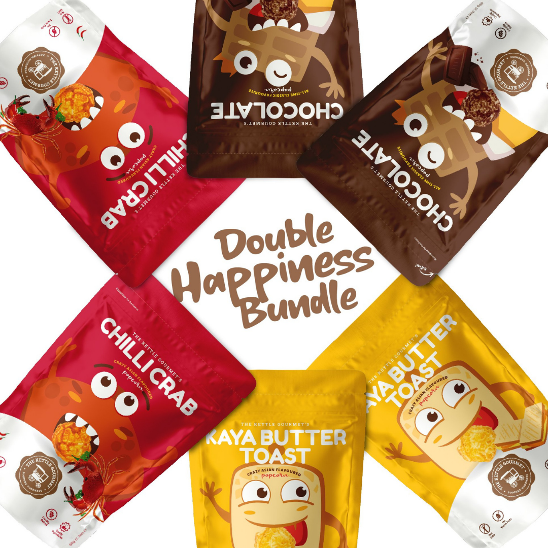 "The Kettle Gourmet ""Double Happiness"" Popcorn Bundle"