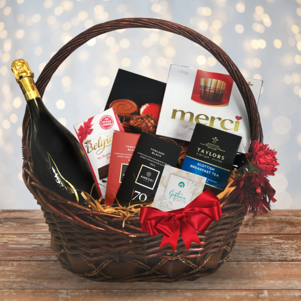 """Drink & Be Merry"" Gift Hamper"