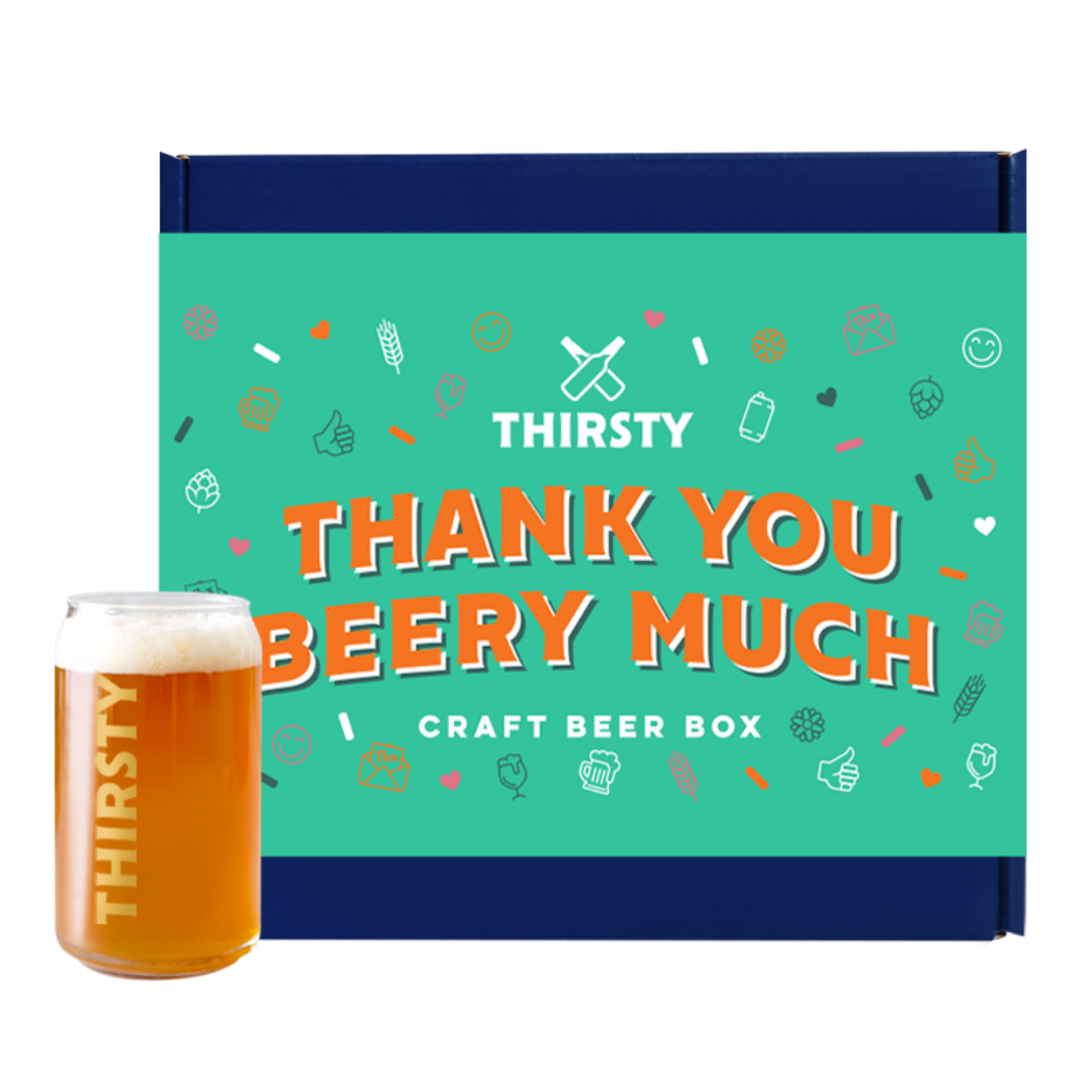 Thirsty 'Thank You Beery Much' Craft Beer Gift Box