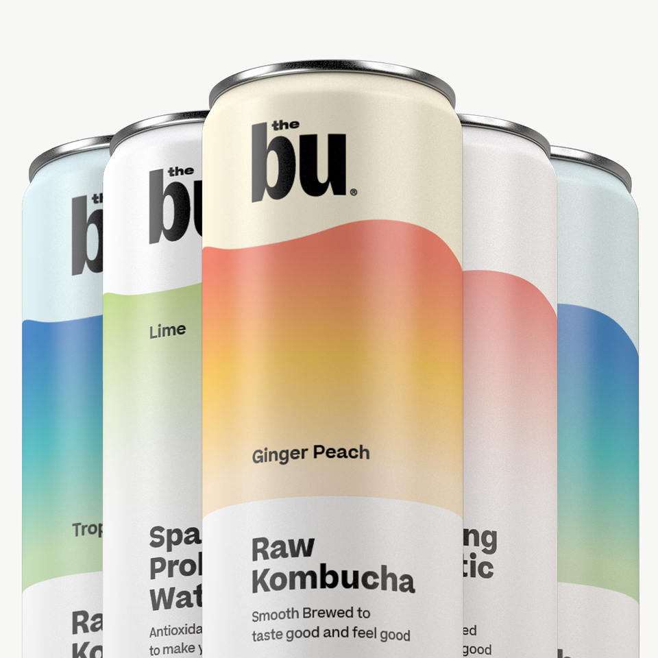 The Bu Kombucha Total Package 12 Pack