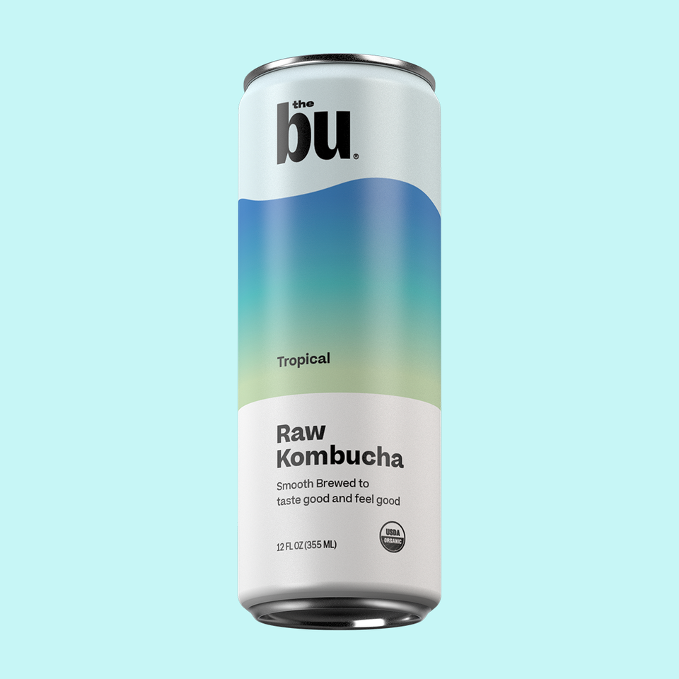 The Bu Kombucha Tropical 12 Pack