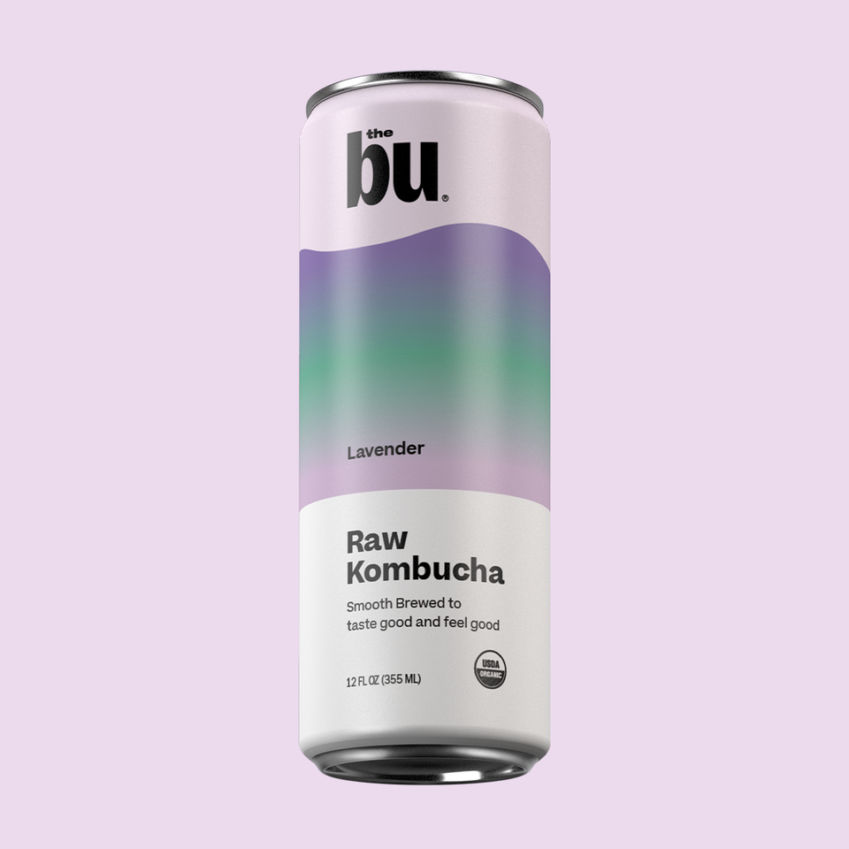 The Bu Kombucha Lavender 12 Pack