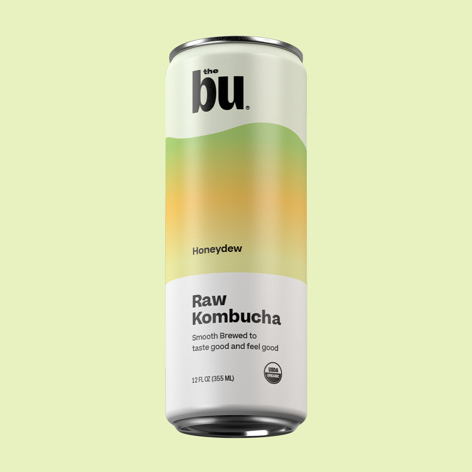 The Bu Kombucha Honeydew 12 Pack