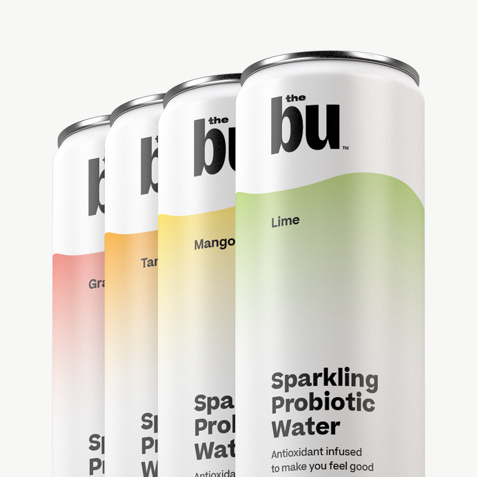 The Belly Magic Sparkling Probiotic Water Pack 12 Pack