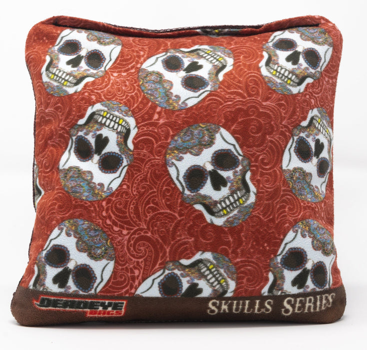 Skull & Gold Teeth - Red