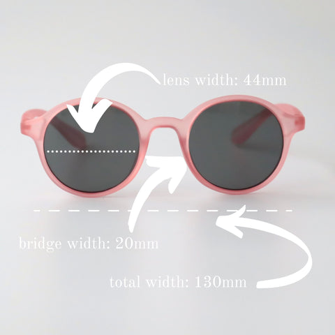 Leo Sun Sunglasses Sizing