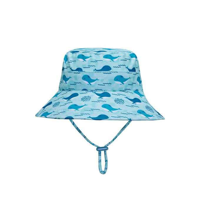 Kids Swim Bucket Hat - Whale Print by Bedhead - Laguna Lifestyle
