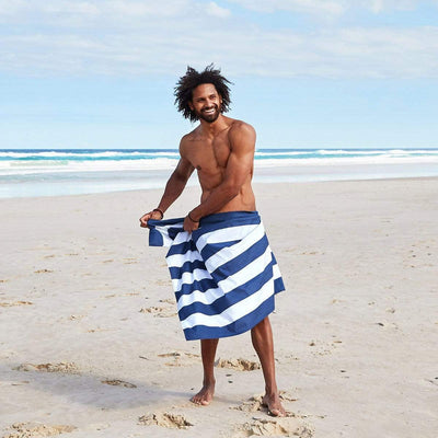 Quick Dry Towel Cabana Collection XL - Whitsunday Blue - Laguna Lifestyle