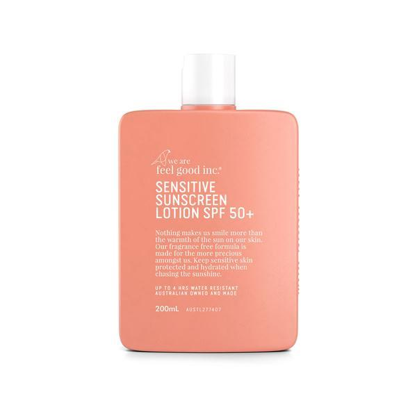 Sensitive Sunscreen Lotion SPF 50+ 200ml by We Are Feel Good Inc - Laguna Lifestyle