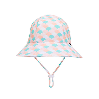 Kids Swim Ponytail Bucket Hat - Ariel - Laguna Lifestyle