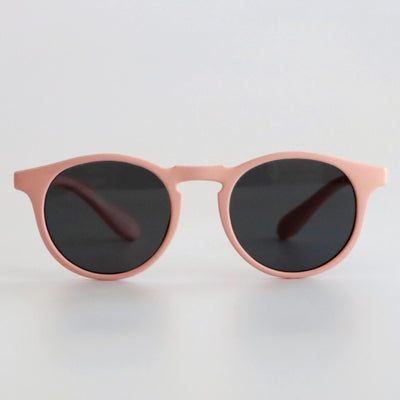 Kids Super Flexible Classic Sunglasses - Dusty Pink - Laguna Lifestyle