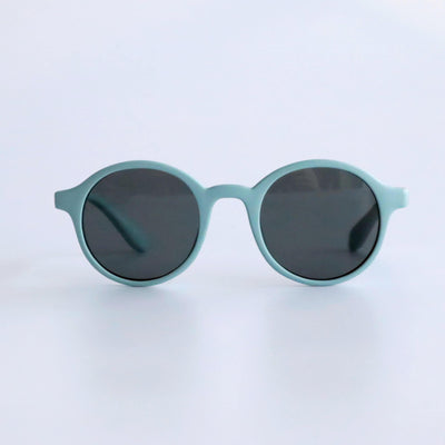 Kids Super Flexible Classic Sunglasses - Dusty Blue - Laguna Lifestyle