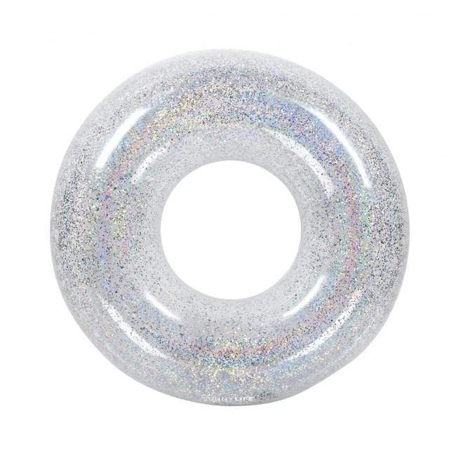 Inflatable Pool Ring - Glitter-Pool Float-by-Sunnylife-