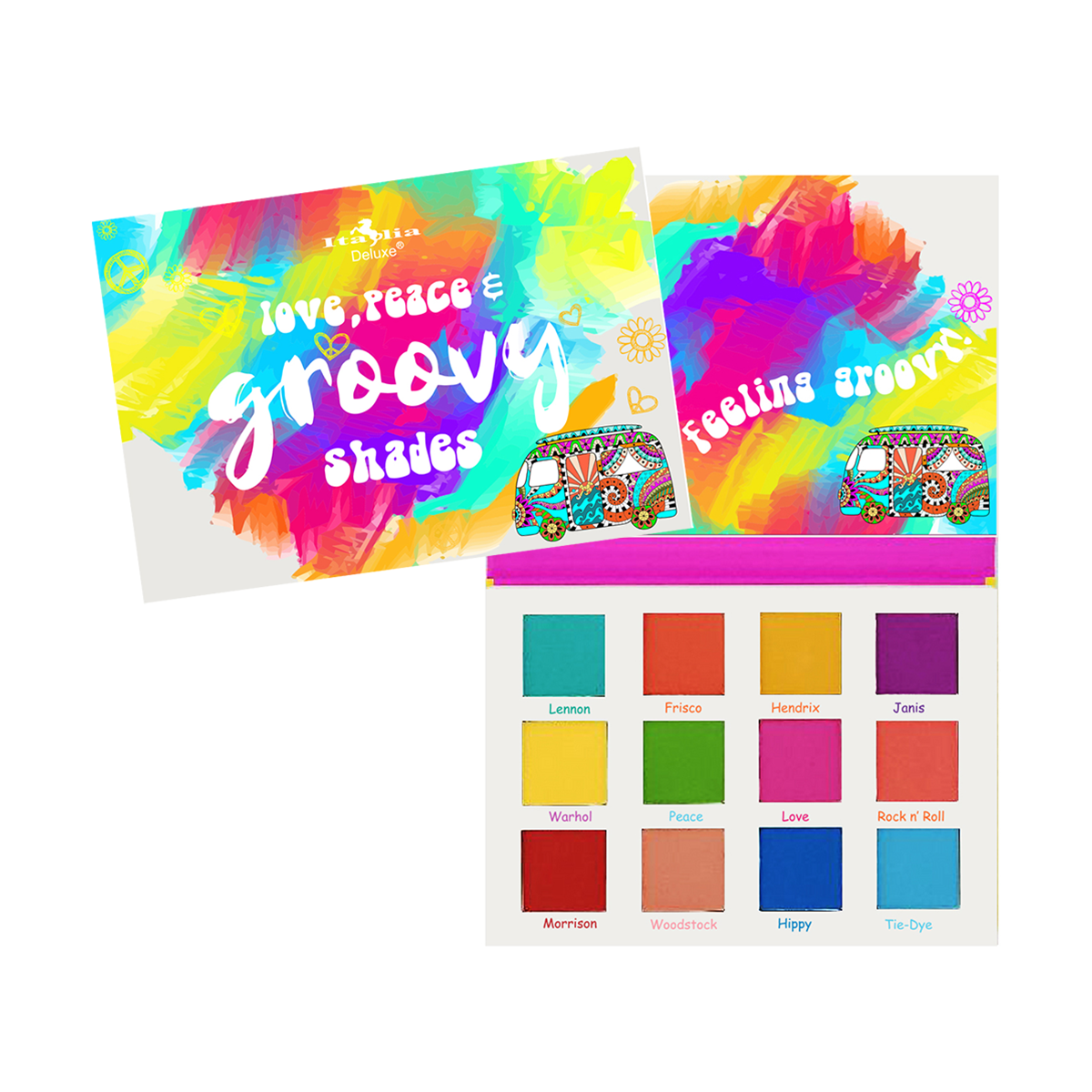 Love, Peace & Groovy Palette