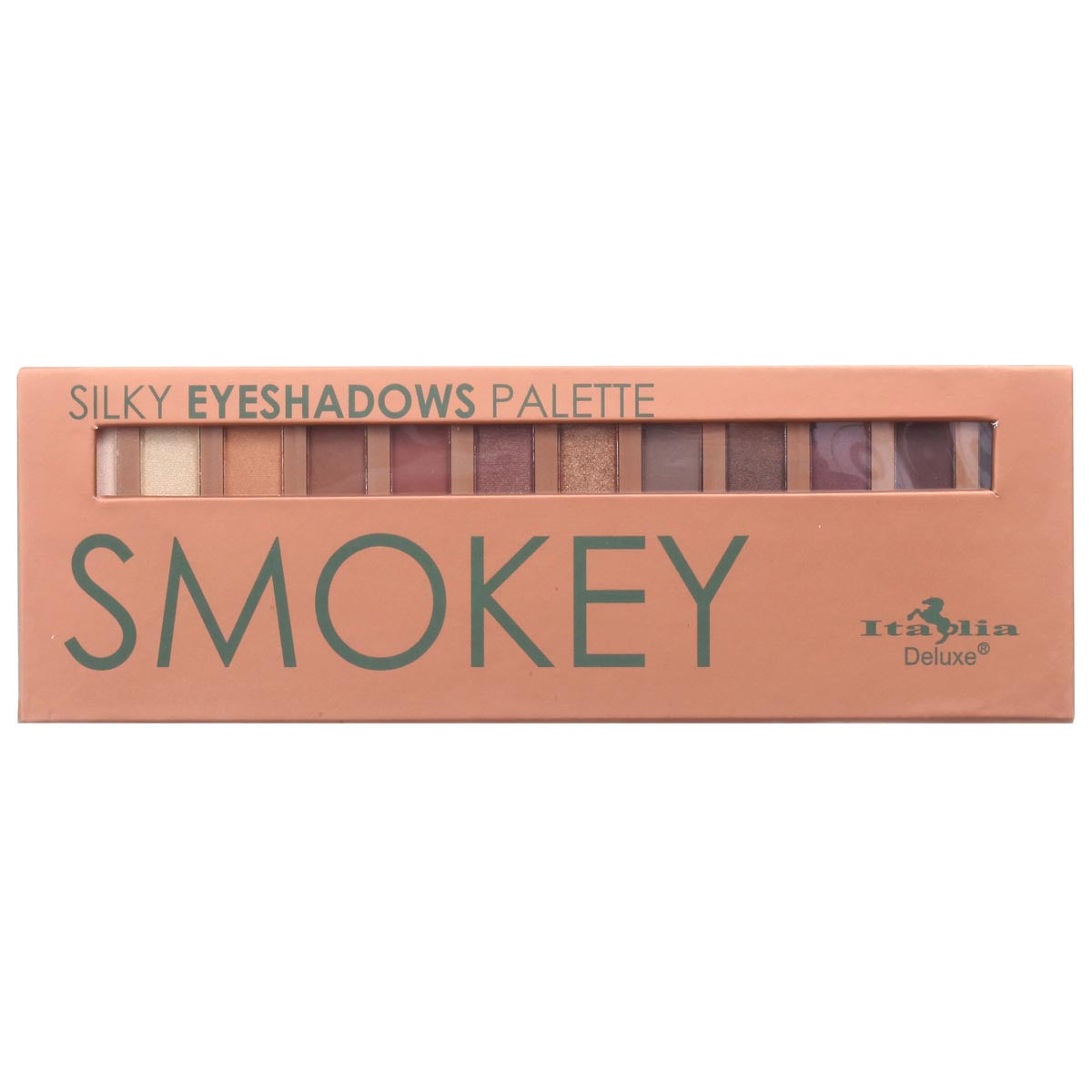 Silky Eyeshadow 12 Color Palette - Smokey