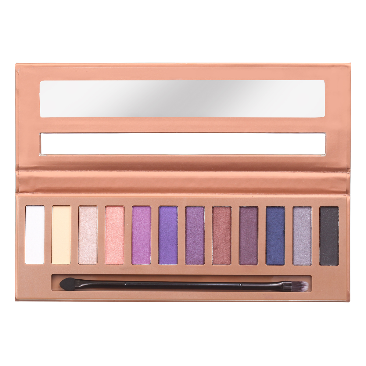 Silky Eyeshadow 12 Color Palette - Rebel