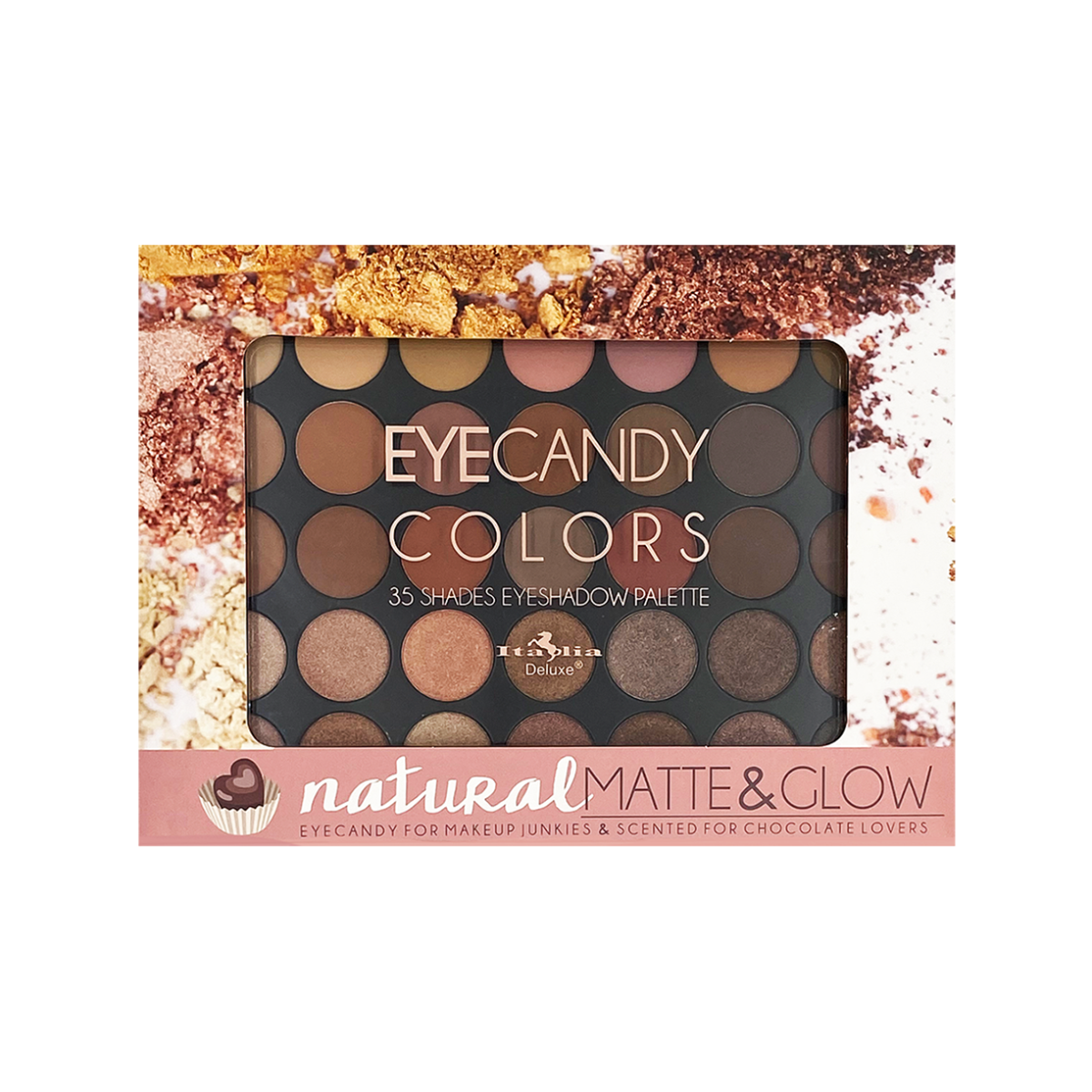 EyeCandy Colors Palette - Natural Matte & Glow