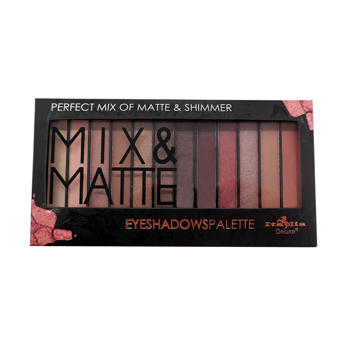 Mix & Matte 12 Color Palette - Amore