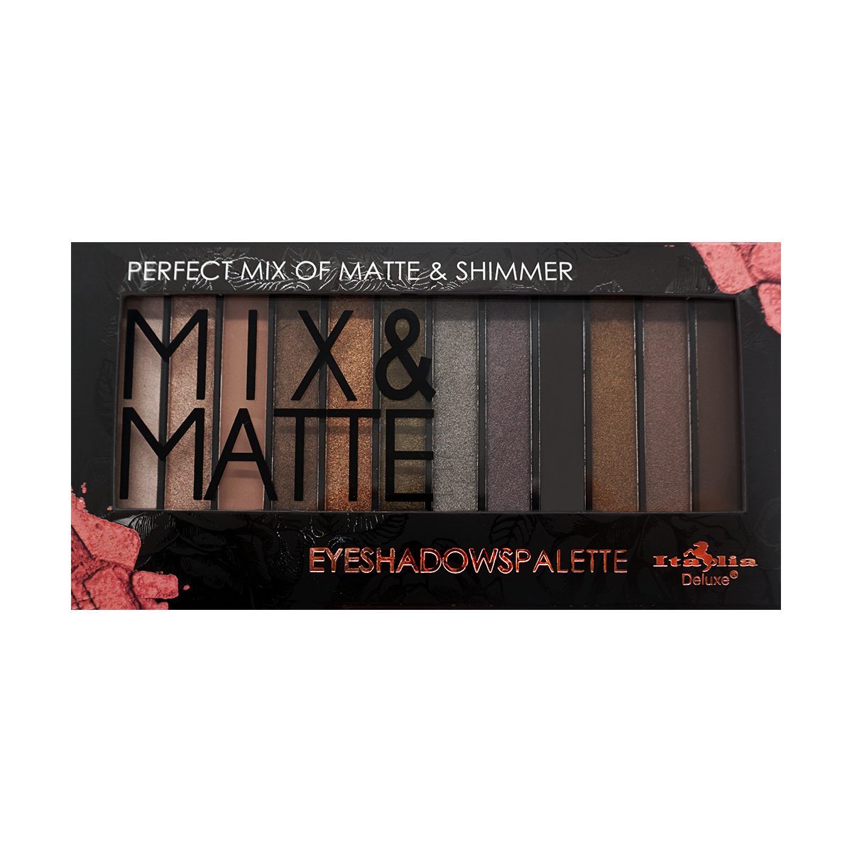 Mix & Matte 12 Color Palette - Glam
