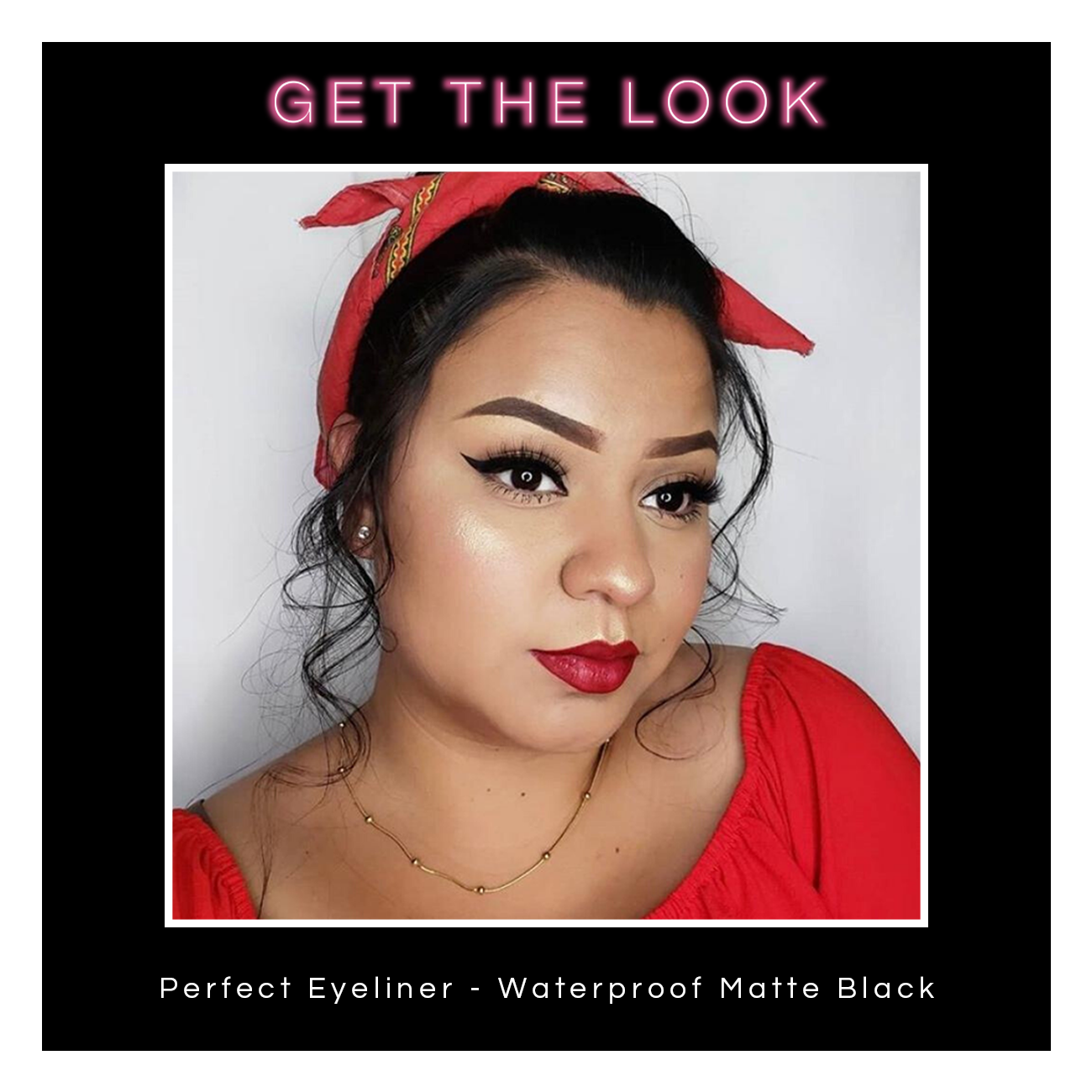 Perfect Eyeliner - Waterproof Matte Black