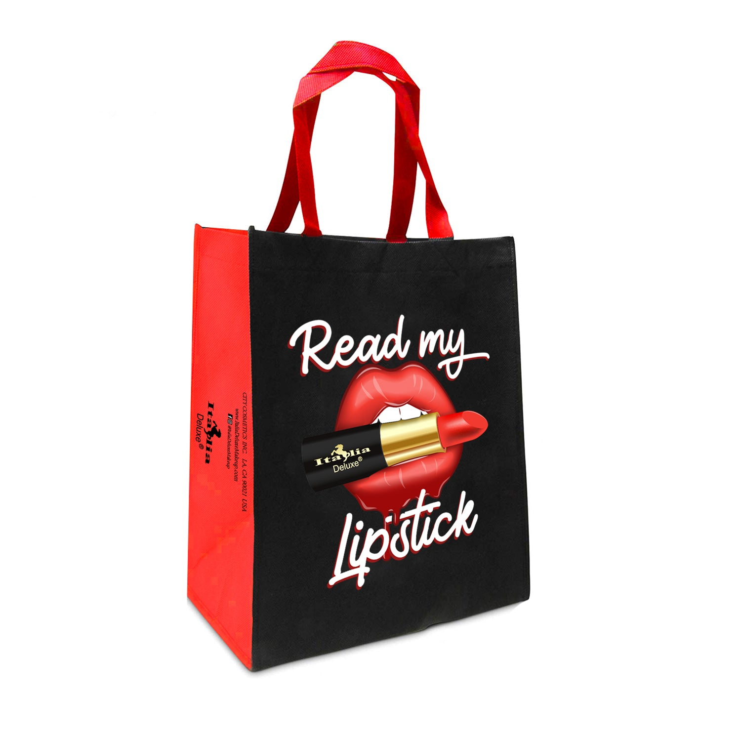 Read My Lipstick Tote Bag