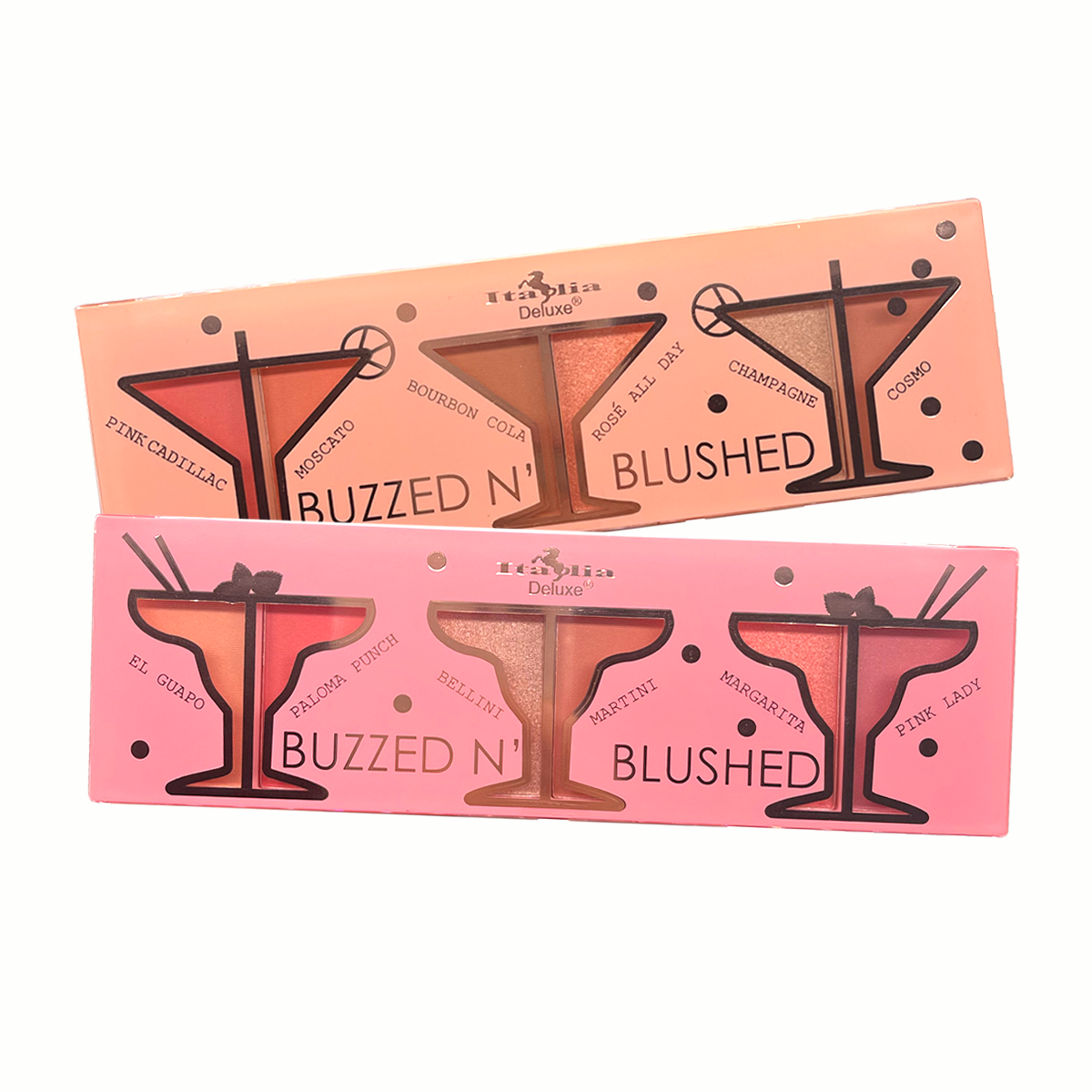Buzzed N' Blushed Highlighter Set