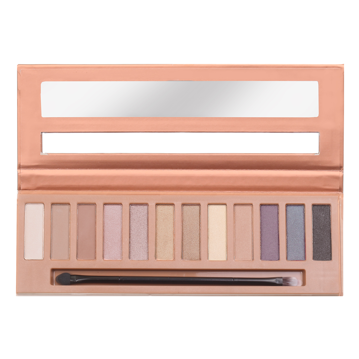 Silky Eyeshadow 12 Color Palette - Bare