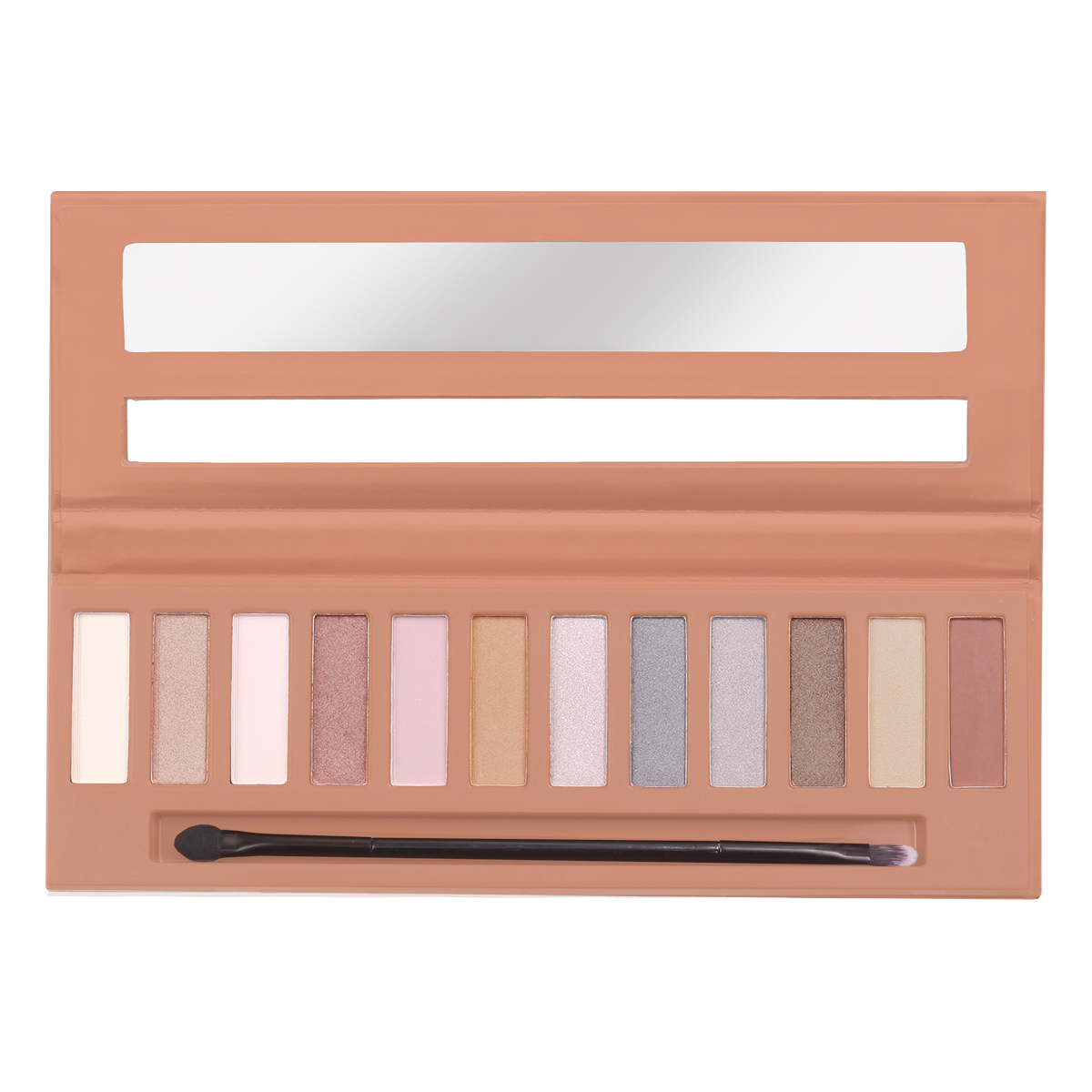 Silky Eyeshadow 12 Color Palette - Nude