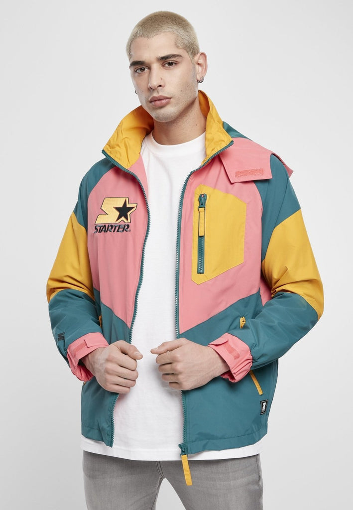 Starter Multicolored Logo 80s Retro Vintage Jacket - Tatventure