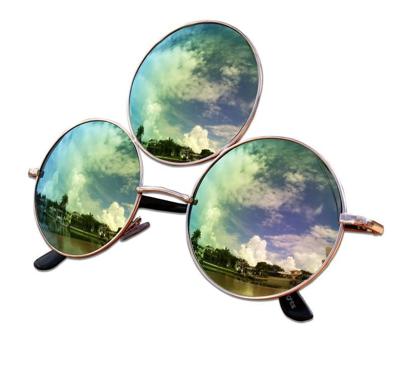 Third Eye Sunglasses, Emerald Green - Tatventure