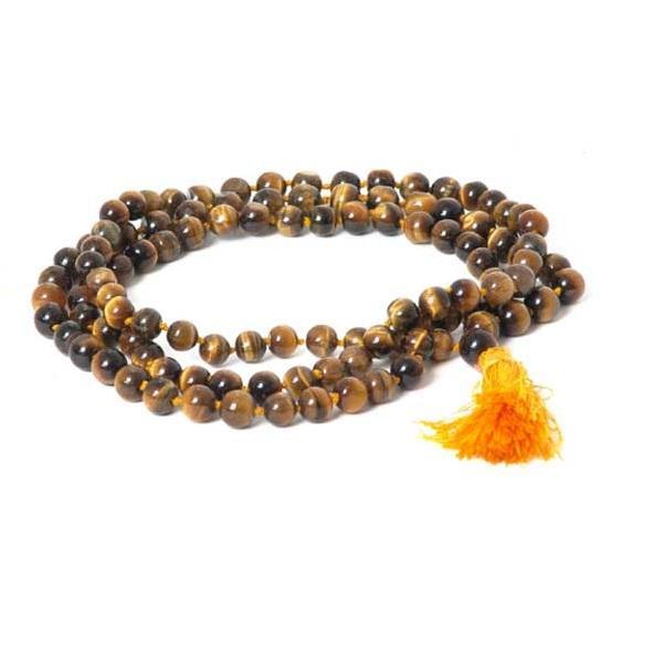 Tiger's Eye Mala Meditation Beads - Tatventure