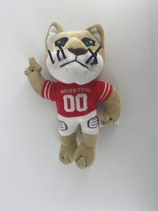 "University of Houston Cougars 8"""" Plush Mascot"