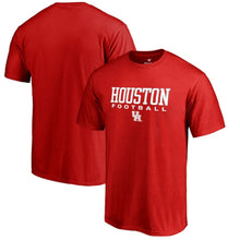 Load image into Gallery viewer, Houston Cougars Fanatics Branded Football T-Shirt