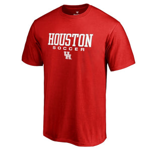 Houston Cougars Fanatics Branded Soccer T-Shirt