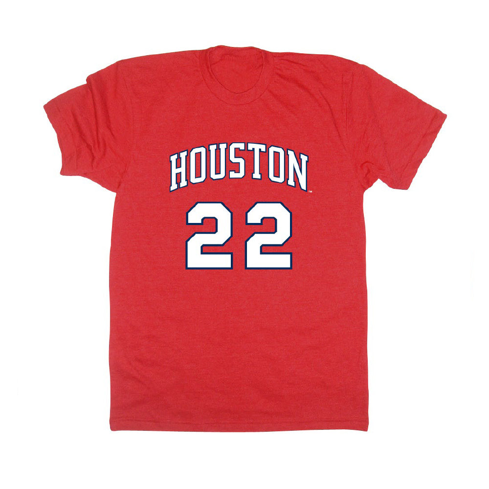 University of Houston Cougars 1983 Jersey SS Tee Clyde Drexler