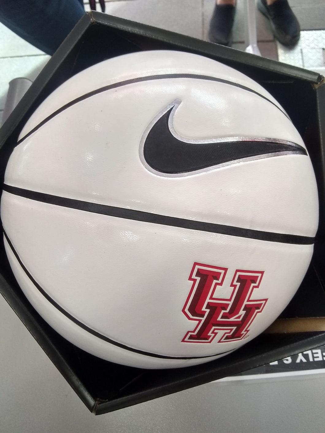 University of Houston Cougars Autograph Basketball