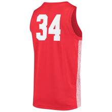 Load image into Gallery viewer, #34 Houston Cougars Jordan Brand Team Replica Basketball Jersey