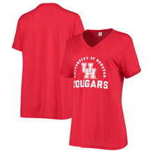 Load image into Gallery viewer, University of Houston Women's Dodge Knotted SS Tee