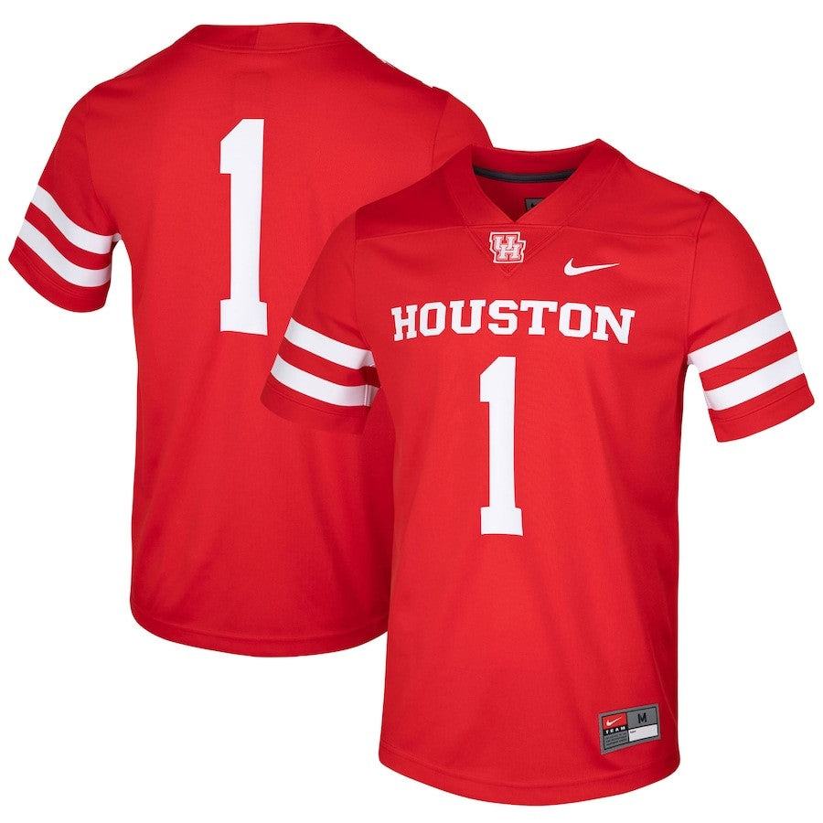 University of Houston Cougars M Game Jersey #1