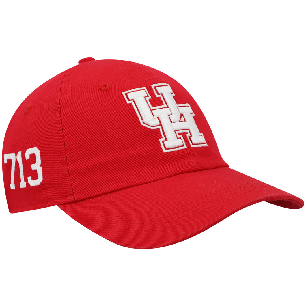 University of Houston Cougars Men's Area Code-Red Adjustable